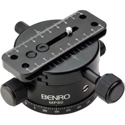 Benro 80mm Base +/14 geared action
