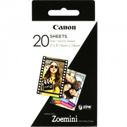 """Canon ZINK™ 2""""x3"""" Photo Paper x 20 sheets"""