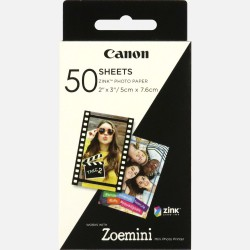 """Canon ZINK™ 2""""x3"""" Photo Paper x 50 sheets"""