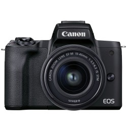Canon EOS M50 Mark II (with EF-M 15-45 IS STM Lens)