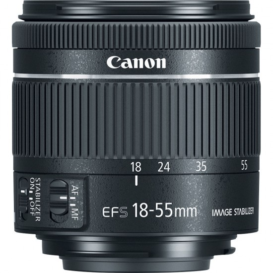 Canon EF-S 18-55mm f4-5.6 IS STM (Split From Kit)