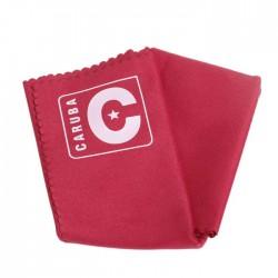 Caruba Microfiber Lens Cloth 30x30 Red