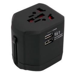 Caruba Multi Travel Adapter - Black