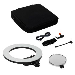 Caruba Ring Light 18 inch LED Vlogger Set with Bag