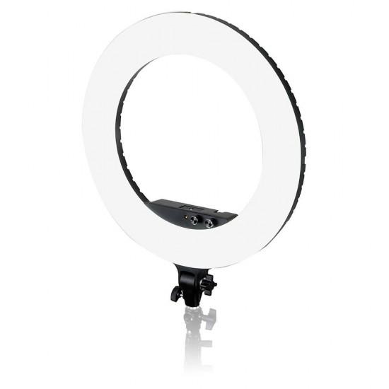 Caruba Ring Light 18 inch LED Vlogger Set with Bag