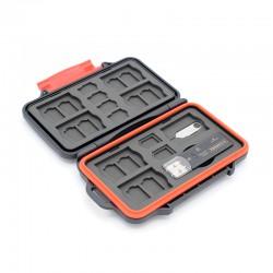 Caruba Multi Card Case MCC-7 (Incl. USB 3.0 Card Reader)