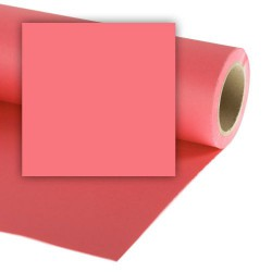 Colorama Paper Background 1.35 x 11m Coral Pink