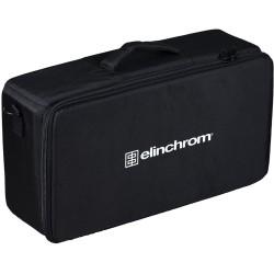 Elinchrom ELC 125 / 500 Twin TTL / HSS Heads, Bag & 16cm Reflectors