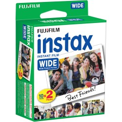 Fujifilm Instax Wide Colour Film (20 Sheets)