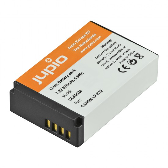 Jupio Canon LP-E12 Replacement Battery