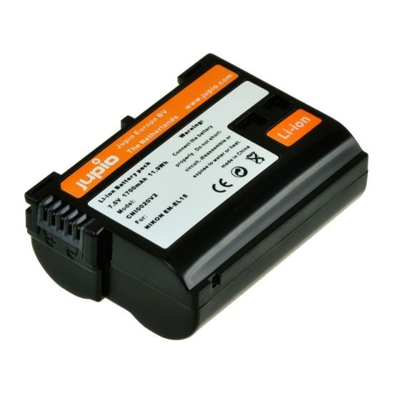 Jupio Nikon EN-EL15A Replacement Battery