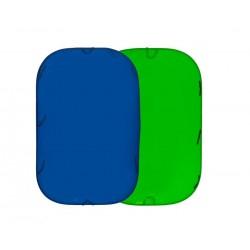 Lastolite Collapsible Reversible 1.8 x 2.1m Chromakey Blue/Green