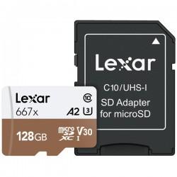 Lexar 128GB UHS-I Micro SDXC 667x Pro