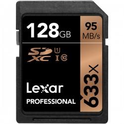 Lexar 128GB UHS-I U1 SDXC 633x Pro