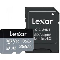 Lexar 256GB UHS-II Micro SDXC 1066x Pro