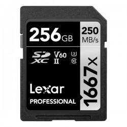 Lexar 256GB UHS-II SDXC 1667x Pro