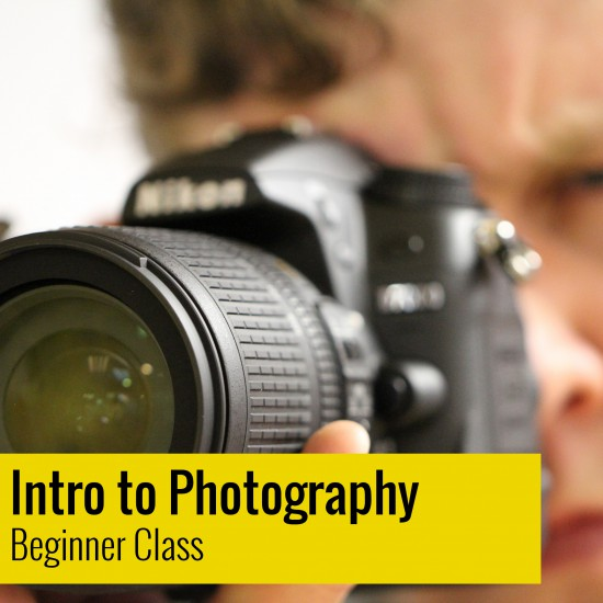 Intro to Photography - Beginner DSLR Half Day Class