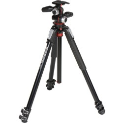 Manfrotto 055XPRO3-3W Alu Tripod with 3-Way Head