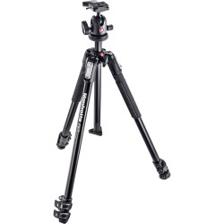 Manfrotto 190X3 Alu Tripod with 496RC2 Compact Ball Head