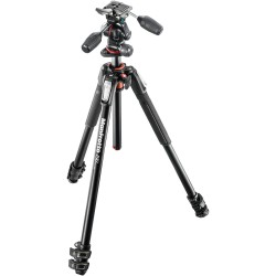 Manfrotto 190XPRO3 Alu Tripod with 3-Way Head