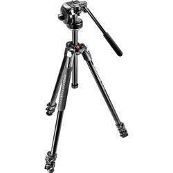 Manfrotto 290 XTRA Tripod with 128RC Fluid Video Head