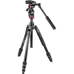 Manfrotto Befree Live Alu Video Tripod Kit (Twist Leg Locks)