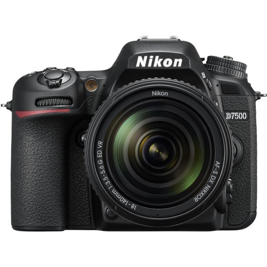 Nikon D7500 (with AF-S 18-140mm VR Lens)