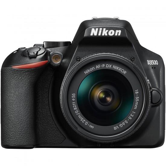 Nikon D3500 (with AF-P 18-55mm VR Lens)