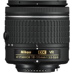 Nikon AF-P 18-55mm f3.5–5.6G VR DX NIKKOR