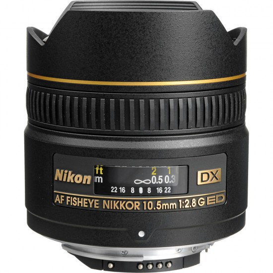 Nikon AF-S FISHEYE 10.5mm f2.8G IF ED NIKKOR
