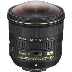 Nikon AF-S 8-15mm f3.5-4.5E ED FISHEYE NIKKOR