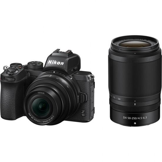 Nikon Z50 (with Z DX 16-50mm + Z DX 50-250mm Lenses)