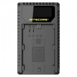 Nitecore UCN1 Charger for Canon LP-E6 (N) + LP-E8 with indicator