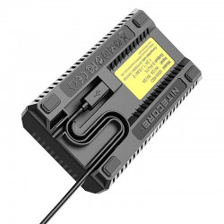 Nitecore USN3 Pro Double Charger for Sony NP-F Series