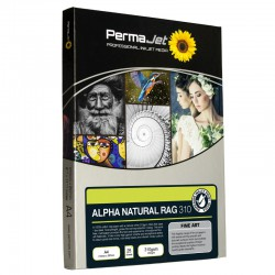 PermaJet Alpha 310gsm Natural Cotton Rag InkJet Paper