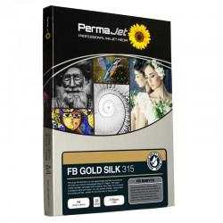 PermaJet Fibre Base Gold Silk 315gsm Inkjet Paper