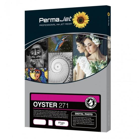 PermaJet Oyster 271gsm InkJet Paper 6x4 100 Sheets