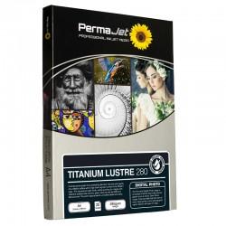 PermaJet Titanium Lustre 280gsm InkJet Paper A4 25 Sheets