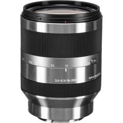 Sony E 18-200mm F3.5-6.3 Lens